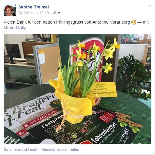 Sabine Treimel Facebook