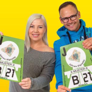 Die ANTENNE VORARLBERG – Vignetten-Wochen! Den ganzen November: Radio hören und mehrmals täglich die neue Vignette gewinnen!