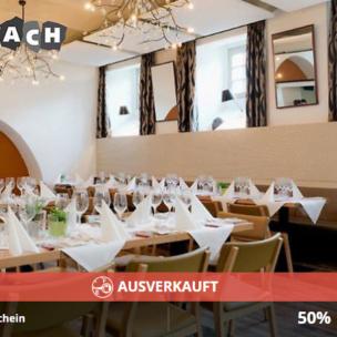 AUSVERKAUFT! Gutschein für Restaurant Stuonobach in Dornbirn