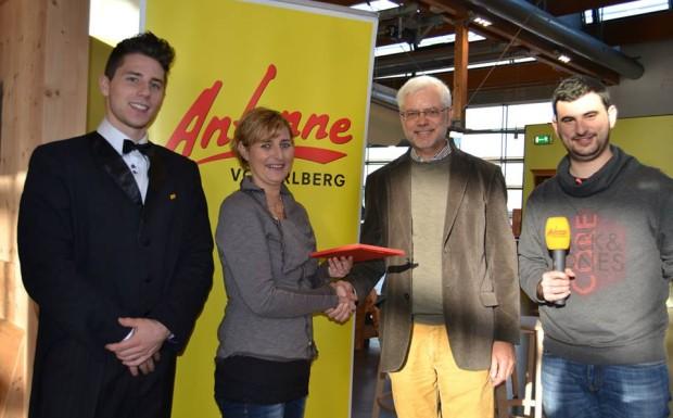 Sabine Cekon aus Möggers gewinnt 1.000 Euro für den Lindaupark!