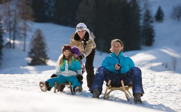 Die schönsten Rodelstrecken in Vorarlberg