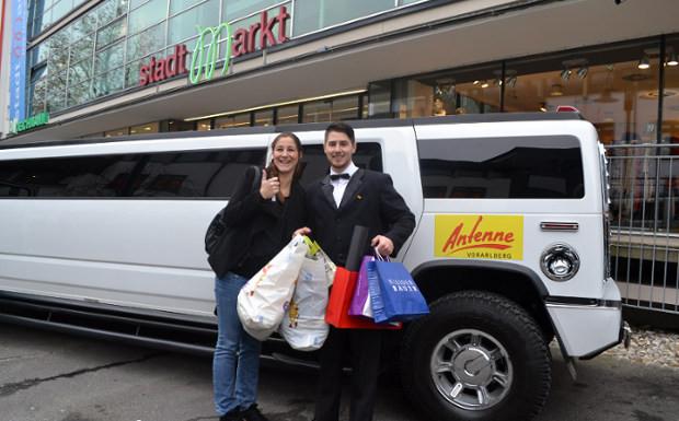 Barbara Hackl aus Hörbranz shoppt für 1.000 Euro!