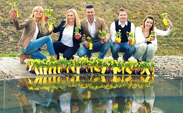 Blumige Frühlingsgrüße von ANTENNE VORARLBERG!