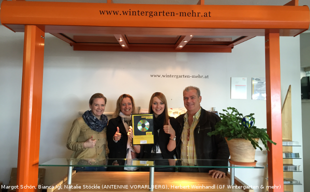 Wintergarten & mehr – Spot des Monats April 2015!