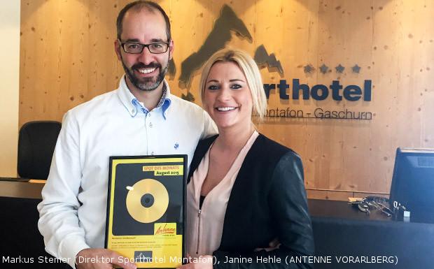 Sporthotel Silvretta Montafon – Spot des Monats August 2015!