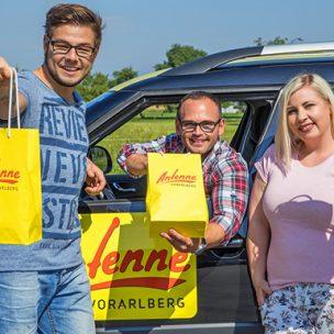 Das ANTENNE VORARLBERG – Frühstücksradio On Tour! Wir sind wir überall in Vorarlberg unterwegs und überraschen euch mit einem leckeren Frühstück!