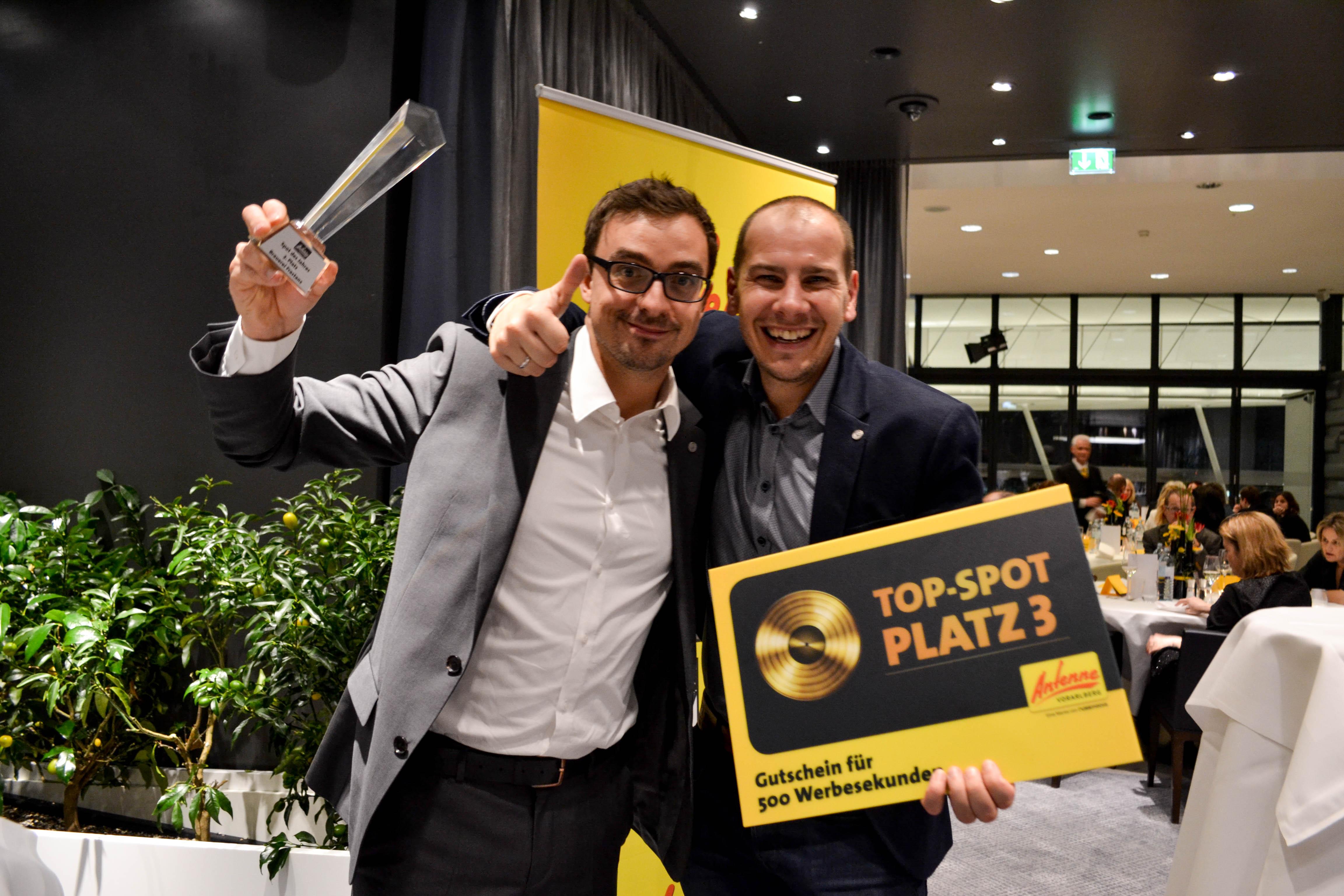 Platz 3_Mario Rothmund und Oliver Müller für Brauerei Frastanz