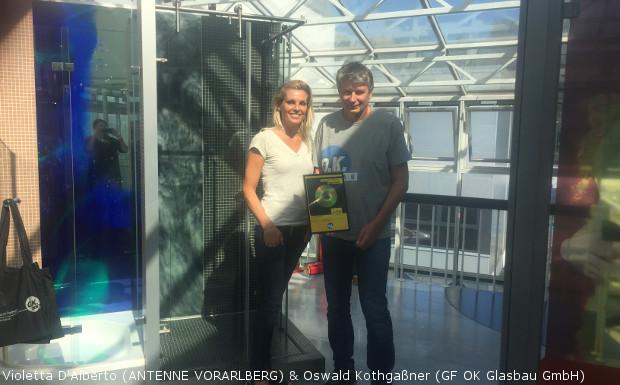 OK Glasbau GmbH – Spot des Monats August 2016