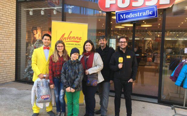 Karoline Meinrad aus Fußach shoppt mit dem Weihnachtsbutler