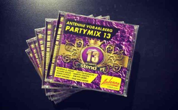 Jetzt bestellen: Die Partymix CD Vol. 13!