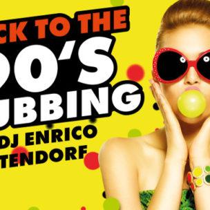 Back to the 90's-Clubbing mit DJ Enrico Ostendorf!