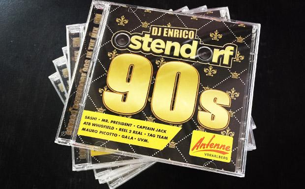 Jetzt neu: ANTENNE VORARLBERG 90s CD von Enrico Ostendorf!