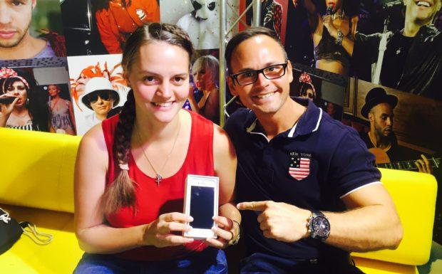 Johanne Reiner ist unsere IPhone 7 Gewinnerin!