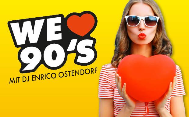 Gewinnen Sie Tickets für die We love 90's Party am Freitag auf der Sonnenkönigin in Bregenz!