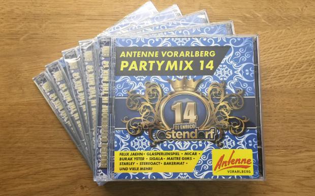 Jetzt neu: ANTENNE VORARLBERG Partymix CD Vol. 14 von Enrico Ostendorf!