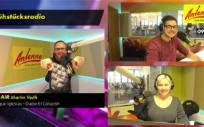 NEU: ANTENNE VORARLBERG macht jetzt Radio zum Sehen! In unserem Visual Radio-Livestream gibts unsere Moderatoren hautnah!