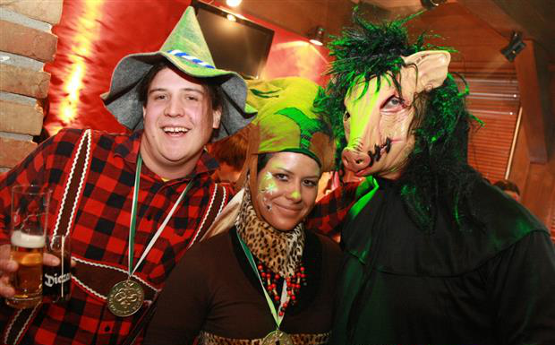 Fasching im Fohren Center in Bludenz