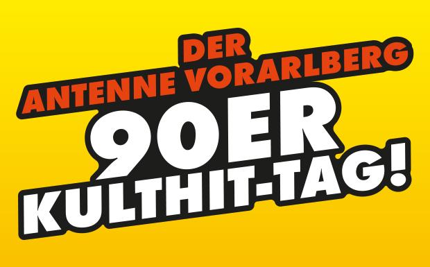 Der ANTENNE VORARLBERG – 90er-Kulthit-Tag!
