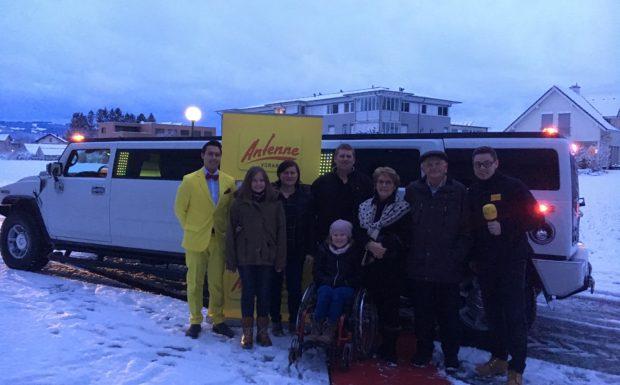 Marko Buchhammer aus Altach gewinnt den Weihnachtsbutler in Lustenau