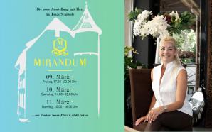 Mirandum von 09. bis 11. März 2018 im Junker Jonas Schlössle in Götzi!