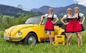 Bierzahl! 2019 Das kultige Bierzahl!-Käfer Cabrio – das will man haben!