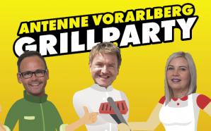 Die ANTENNE VORARLBERG – Grillparty! Wir grillen live im Radio - und ihr grillt zuhause einfach mit: Am Pfingstmontag ab 11 Uhr!