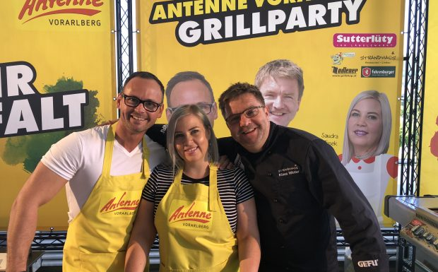 Das war die ANTENNE VORARLBERG – Grillparty!