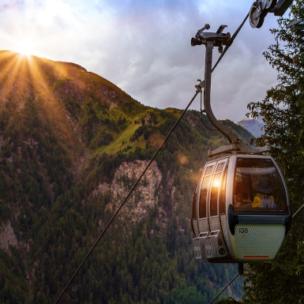 Die TOP 10 der Seilbahnen mit dem schönsten Ausblick in Vorarlberg!
