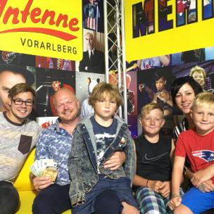 Gerhard Amann aus Feldkirch gewinnt 500 Euro in BAR!