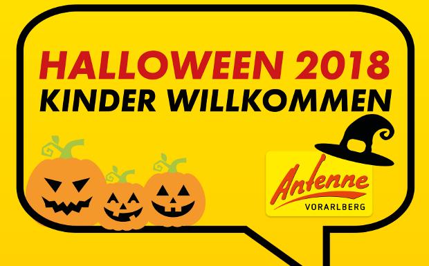 Süßes, sonst gibt's Saures – bei uns sind Kinder an Halloween willkommen!
