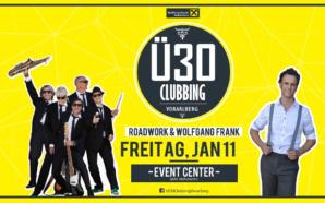 Das XXL Ü30 Clubbing am Freitag, 11. Jänner 2019 im Event.Center Hohenems!