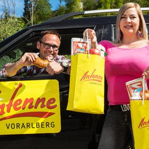 Das ANTENNE VORARLBERG – Frühstücksradio On Tour! Wir sind überall in Vorarlberg unterwegs und überraschen euch mit einem leckeren Frühstück!