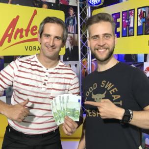 Mario Prasser aus Feldkirch gewinnt 500 Euro in BAR!