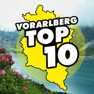 Die Vorarlberg TOP 10: Ausflugsziele Hier abstimmen: Wir suchen die 10 besten Ausflugsziele in Vorarlberg!