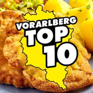 Die Vorarlberg TOP 10: Schnitzel Hier abstimmen: Wir suchen die 10 besten Schnitzel in Vorarlberg!