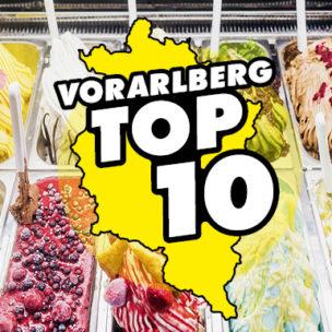 Die Vorarlberg TOP 10: bestes Eis Hier abstimmen: Wir suchen die 10 besten Eis in Vorarlberg!
