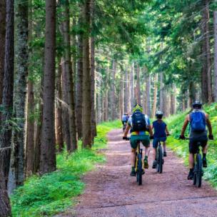 Die TOP 10 der besten E-Bike-Strecken in Vorarlberg!