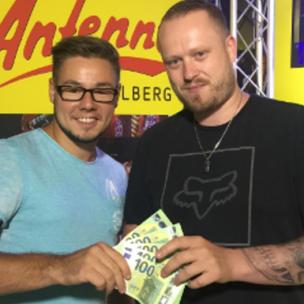 Fabio Kleisl aus Götzis gewinnt 500 Euro in BAR!