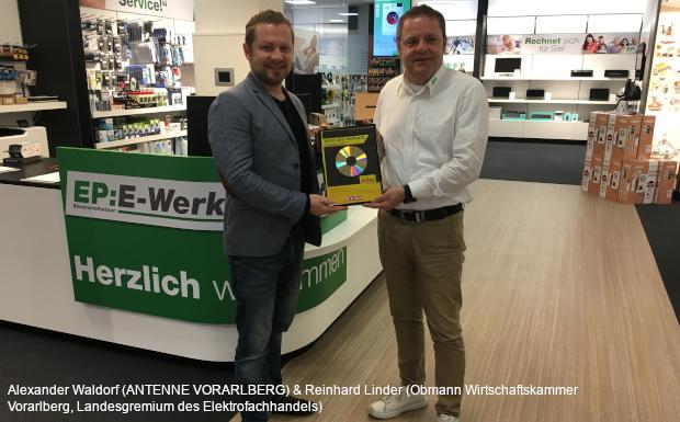 Wirtschaftskammer Vorarlberg Sparte Elektrofachhandel – Spot des Monats Dezember 2019!