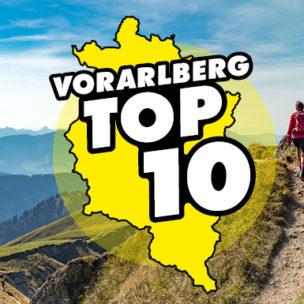 Die Vorarlberg TOP 10! Diese Woche suchen wir die TOP 10 der besten Ausflugsziele für einen schönen Herbst-Sonntag in Vorarlberg!