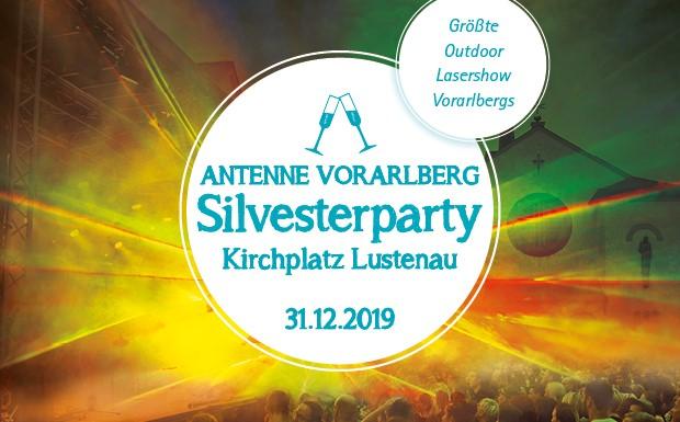 Die große Silvesterparty mit ANTENNE VORARLBERG in Lustenau