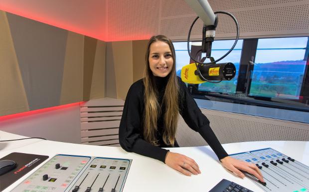 Nina Früh – die Neue bei der Arbeit!