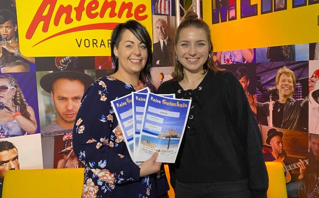Sabine Fleisch aus Bürs gewinnt 300 Euro von 5 vor 12 Reisen!