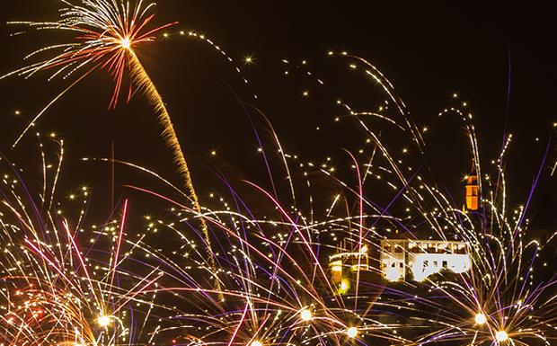 Die TOP 10 der besten Orte in Vorarlberg um das Silvester-Feuerwerk zu sehen!