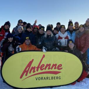 Hoch, höher, am höchsten: Das ANTENNE VORARLBERG – Frühstücksradio sendet von 2.300m!