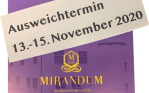 Mirandum 2020 von 13. bis 15. November im Junker-Jonas-Schlössle in Götzis!