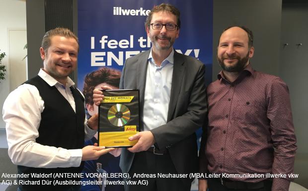 illwerke vkw AG – Spot des Monats Jänner 2020!
