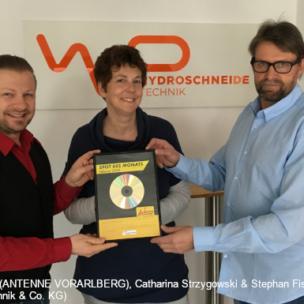 W.P. HydroschneideTechnik & Co. KG – Spot des Monats Februar 2020!