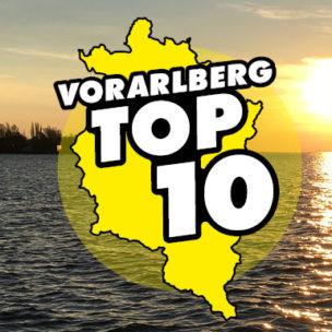Die Vorarlberg TOP 10! Diese Woche suchen wir die TOP 10 der besten Plätze zum Abkühlen in Vorarlberg!