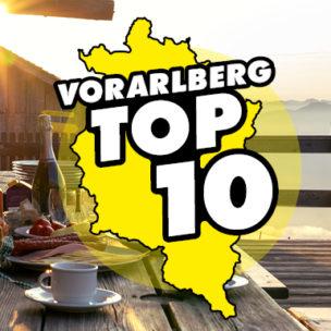 Die Vorarlberg TOP 10! Diese Woche suchen wir die TOP 10 der besten Lokale zum Brunchen in Vorarlberg!